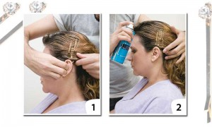 Penteados rápidos para cabelos volumosos