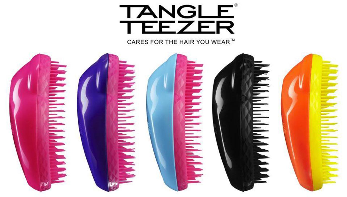 Tangle Teezer – Linha de escovas para desembaraçar o cabelo