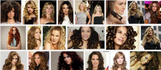 Permanente e ondulação de cabelos
